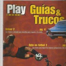 Coleccionismo de Revistas y Periódicos: PLAY MANIA GUIAS TRUCOS DRIVER 2. Lote 170306936