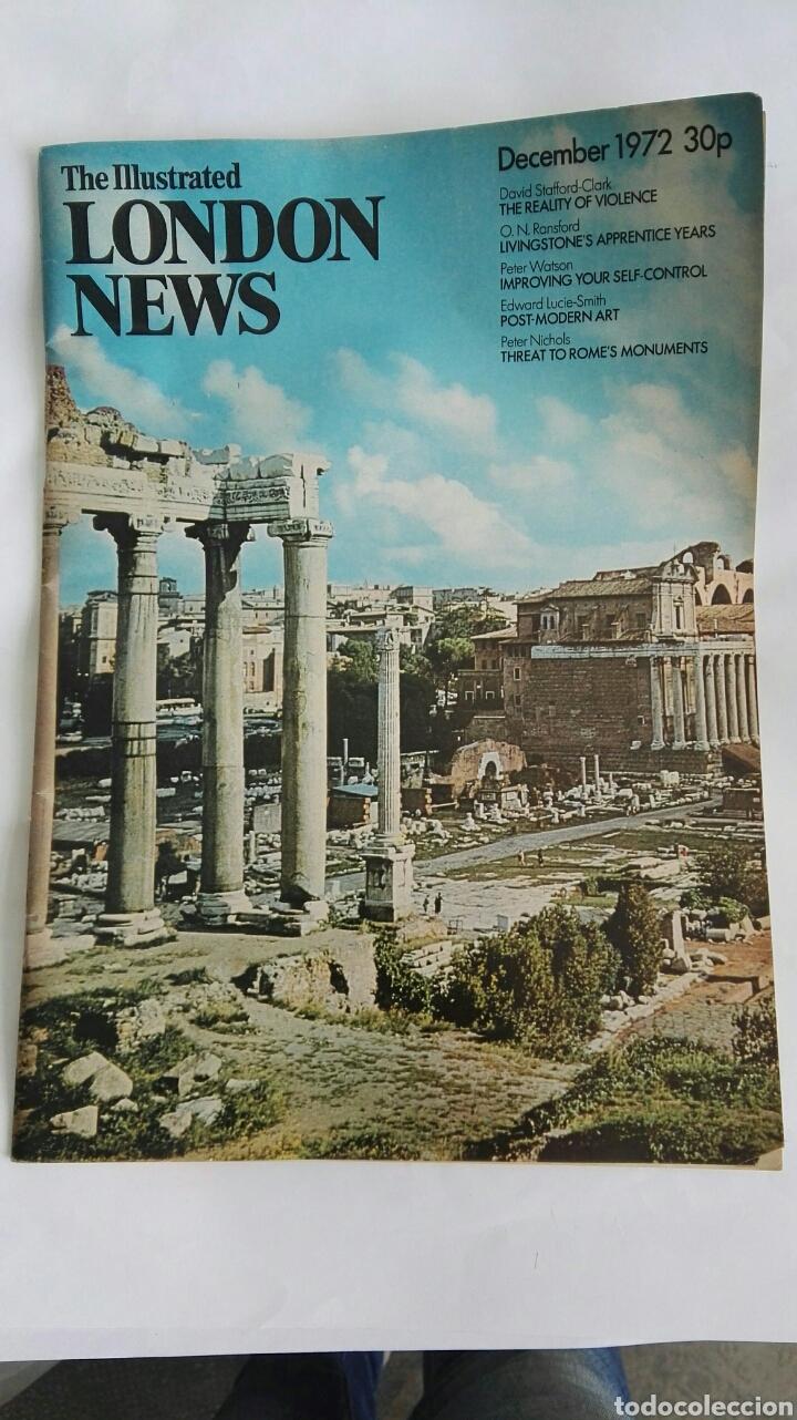 THE ILLUSTRATED LONDON NEWS DECEMBER 1972 (Coleccionismo - Revistas y Periódicos Modernos (a partir de 1.940) - Otros)