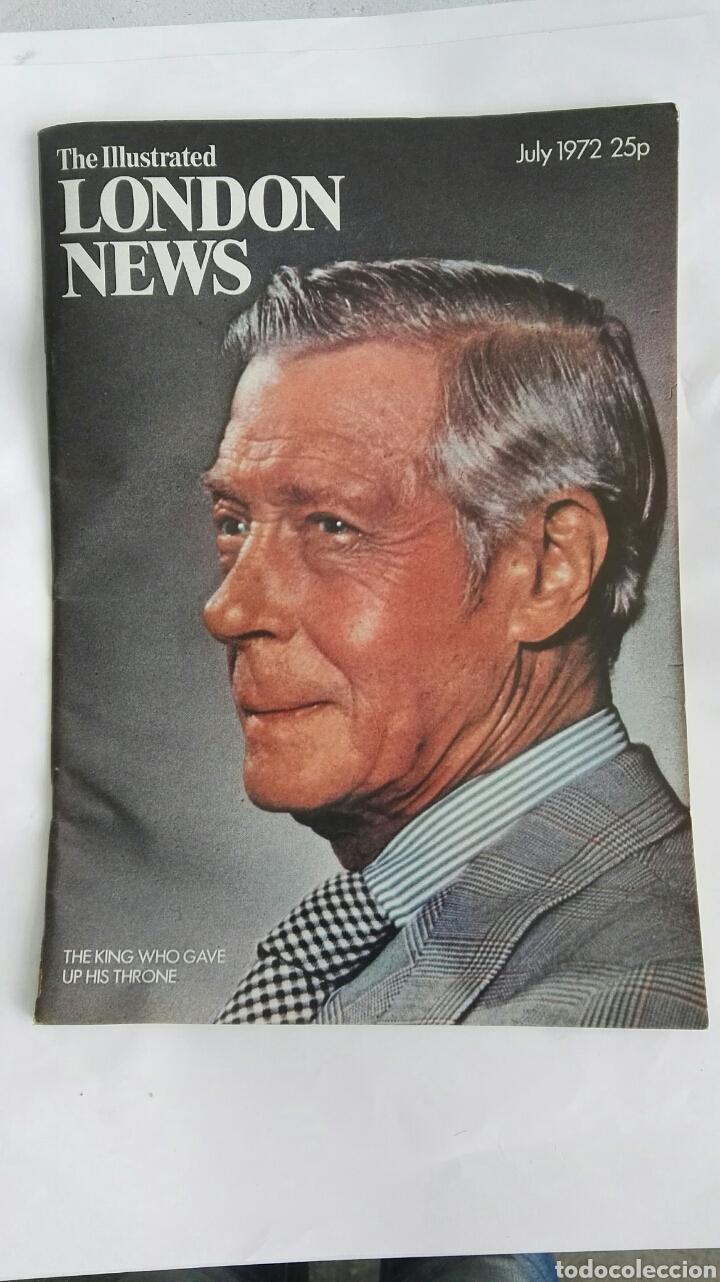 THE ILLUSTRATED LONDON NEWS JULY 1972 (Coleccionismo - Revistas y Periódicos Modernos (a partir de 1.940) - Otros)