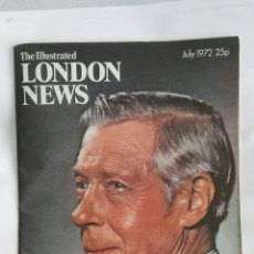 Coleccionismo de Revistas y Periódicos: THE ILLUSTRATED LONDON NEWS JULY 1972. Lote 170320126