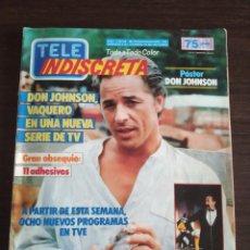 Coleccionismo de Revistas y Periódicos: REVISTA TELE INDISCRETA AÑO 2 NUM 86 1986. Lote 170361768