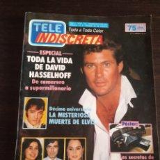 Coleccionismo de Revistas y Periódicos: REVISTA TELE INDISCRETA AÑO 3 NÚM 132 1986. Lote 170365488