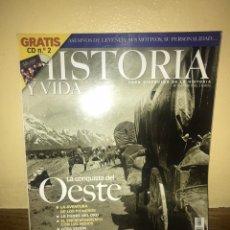 Coleccionismo de Revistas y Periódicos: HISTORIA Y VIDA LA CONQUISTA DEL OESTE. Lote 170389889