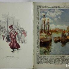 Coleccionismo de Revistas y Periódicos: ANTIGUO PERIODICO ORIGINAL, BLANCO Y NEGRO, REVISTA ILUSTRADA, Nº 475, 9 DE JUNIO DE 1900. Lote 170433392