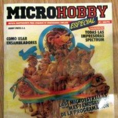 Coleccionismo de Revistas y Periódicos: REVISTA MICROHOBBY ESPECIAL AÑO 1 NÚMERO 1 1-NOVIEMBRE-1985. Lote 170434664