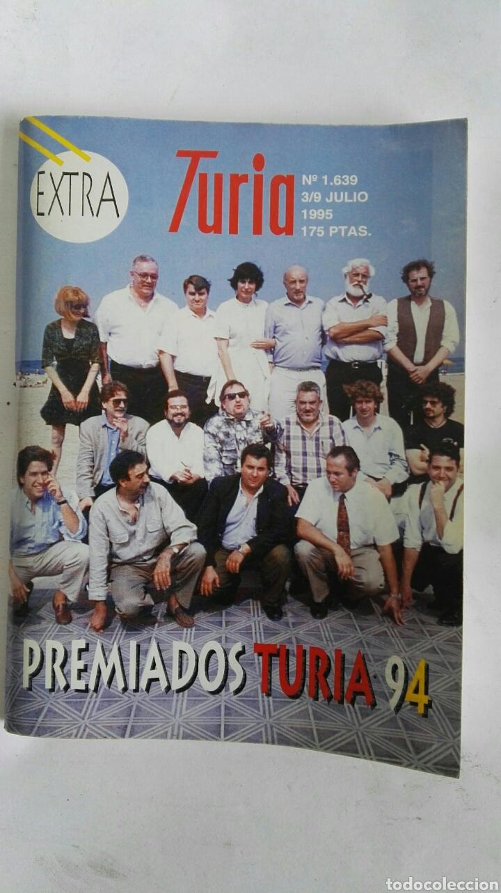 CARTELERA TURIA N 1639 1995 EXTRA (Coleccionismo - Revistas y Periódicos Modernos (a partir de 1.940) - Otros)