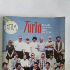 Coleccionismo de Revistas y Periódicos: CARTELERA TURIA N 1639 1995 EXTRA. Lote 170462642