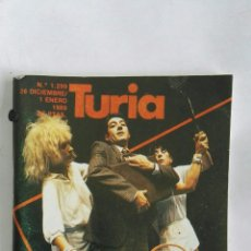 Coleccionismo de Revistas y Periódicos: CARTELERA TURIA N 1299 1989. Lote 170463246