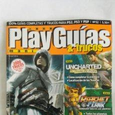 Coleccionismo de Revistas y Periódicos: PLAY MANIA GUIAS Y TRUCOS N° 52 ASSASINS DRAGON BALL Z. Lote 170463856