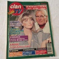 Coleccionismo de Revistas y Periódicos: REVISTA CLAN TV Nº 186 1990 CASTELLON . Lote 170467440