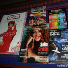 Coleccionismo de Revistas y Periódicos: ORGULLO GAY MADRID 2019: ESPECIAL SHANGAY 514 MÓNICA NARANJO SHANGUIDE SOMOS CHUECA WONDERGAY Y...... Lote 170514036