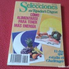 Coleccionismo de Revistas y Periódicos: ANTIGUA REVISTA SELECCIONES DEL READER´S DIGEST MAYO DE 1987 CHALLENGER ARTHUR HAILEY LIECHTENSTEIN. Lote 170526204