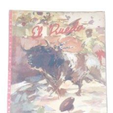 Coleccionismo de Revistas y Periódicos: EL RUEDO Nº396,AÑO 1952 -REVISTA TAURINA-TOROS-TAUROMAQUIA-TORERO-. Lote 170532392