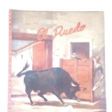 Coleccionismo de Revistas y Periódicos: EL RUEDO Nº265,AÑO 1949 -REVISTA TAURINA-TOROS-TAUROMAQUIA-TORERO-. Lote 170533212