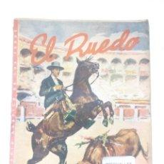 Coleccionismo de Revistas y Periódicos: EL RUEDO Nº160,AÑO 1947 -REVISTA TAURINA-TOROS-TAUROMAQUIA-TORERO-. Lote 170537184