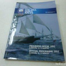 Coleccionismo de Revistas y Periódicos: THE TALL SHIPS RACES - PROGRAMA OFICIAL 2012 -N 3. Lote 170540276