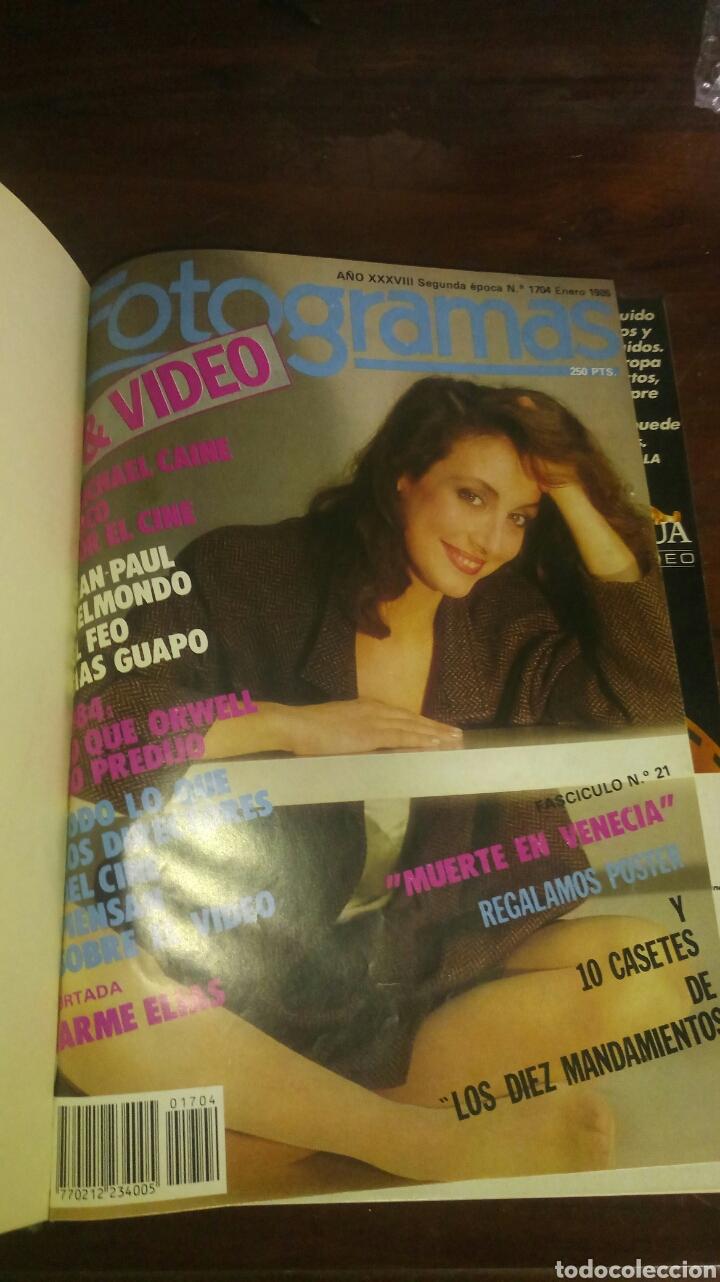 Coleccionismo de Revistas y Periódicos: Coleccion revista fotogramas - Foto 2 - 170571876