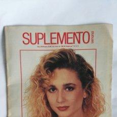 Coleccionismo de Revistas y Periódicos: REVISTA SUPLEMENTO SEMANAL MARZO 1988 MARTA SÁNCHEZ FALLAS COMMUNARDS. Lote 170572341