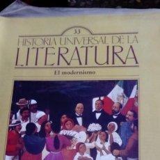 Coleccionismo de Revistas y Periódicos: HISTORIA UNIVERSAL DE LA LITERATURA, Nº 33. EL MODERNISMO.. Lote 170619965