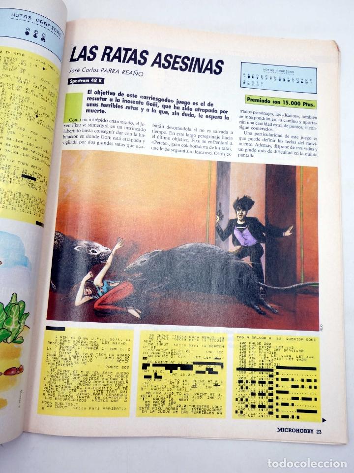 Coleccionismo de Revistas y Periódicos: MICRO HOBBY MICROHOBBY SEMANAL 17. REVISTA ORDENADORES SINCLAIR (Vvaa) Hobby Press, 1985 - Foto 4 - 170848597