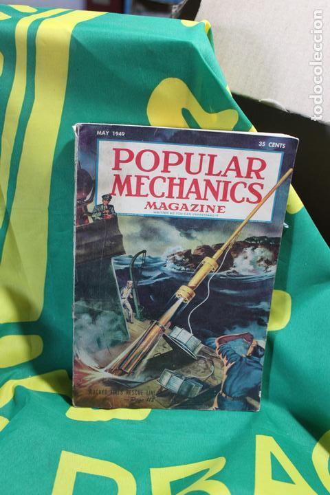POPULAR MECHANICS MAGAZINE MAYO 1949. 318 PÁGS. (Coleccionismo - Revistas y Periódicos Modernos (a partir de 1.940) - Otros)