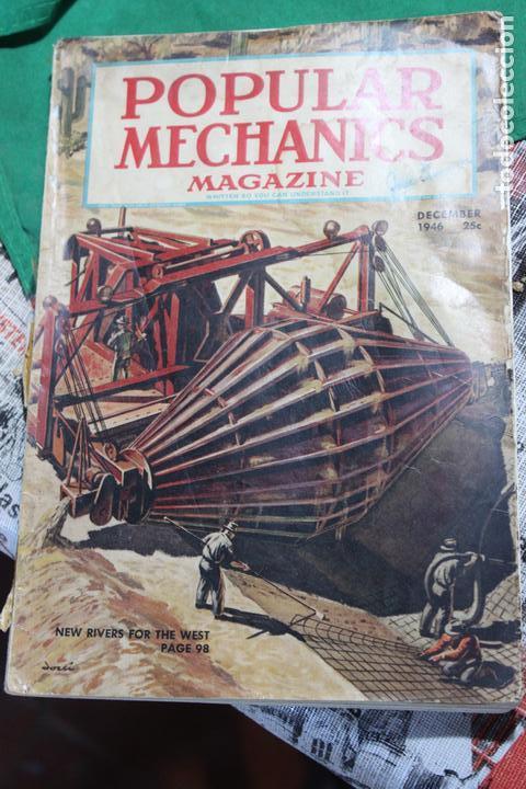 POPULAR MECHANICS MAGAZINE DICIEMBRE 1946. 312 PÁGS. (Coleccionismo - Revistas y Periódicos Modernos (a partir de 1.940) - Otros)