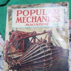 Coleccionismo de Revistas y Periódicos: POPULAR MECHANICS MAGAZINE DICIEMBRE 1946. 312 PÁGS.. Lote 170941260