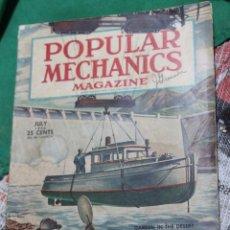Coleccionismo de Revistas y Periódicos: POPULAR MECHANICS MAGAZINE JULIO 1946. 278 PÁGS.. Lote 170941360