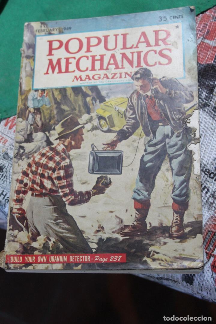 POPULAR MECHANICS MAGAZINE FEBRERO 1949. 338 PÁGS. (Coleccionismo - Revistas y Periódicos Modernos (a partir de 1.940) - Otros)