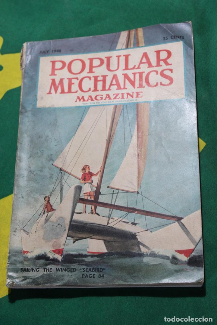 POPULAR MECHANICS MAGAZINE JULIO 1948. 290 PÁGS. (Coleccionismo - Revistas y Periódicos Modernos (a partir de 1.940) - Otros)