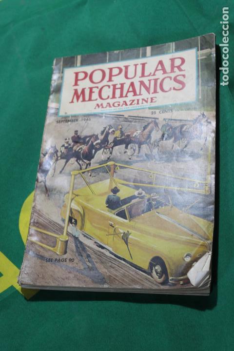 POPULAR MECHANICS MAGAZINE SEPTIEMBRE 1946. 298 PÁGS. (Coleccionismo - Revistas y Periódicos Modernos (a partir de 1.940) - Otros)