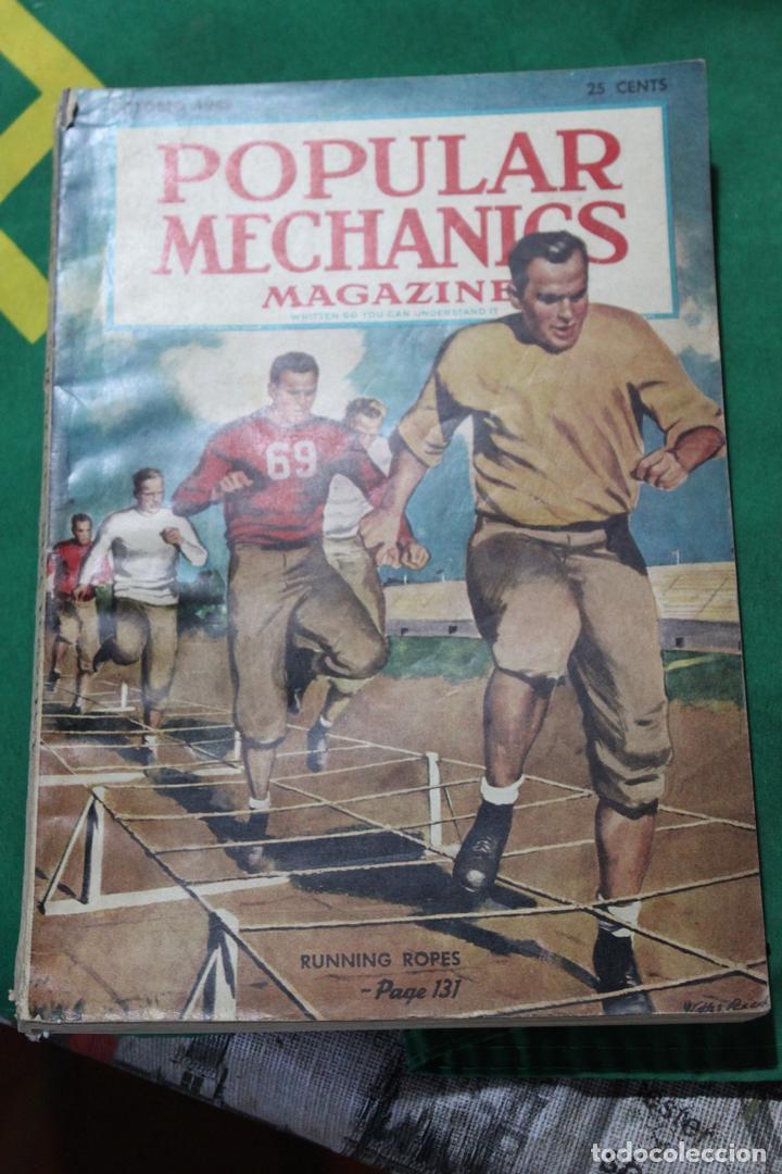 POPULAR MECHANICS MAGAZINE OCTUBRE 1948. 358 PÁGS. (Coleccionismo - Revistas y Periódicos Modernos (a partir de 1.940) - Otros)