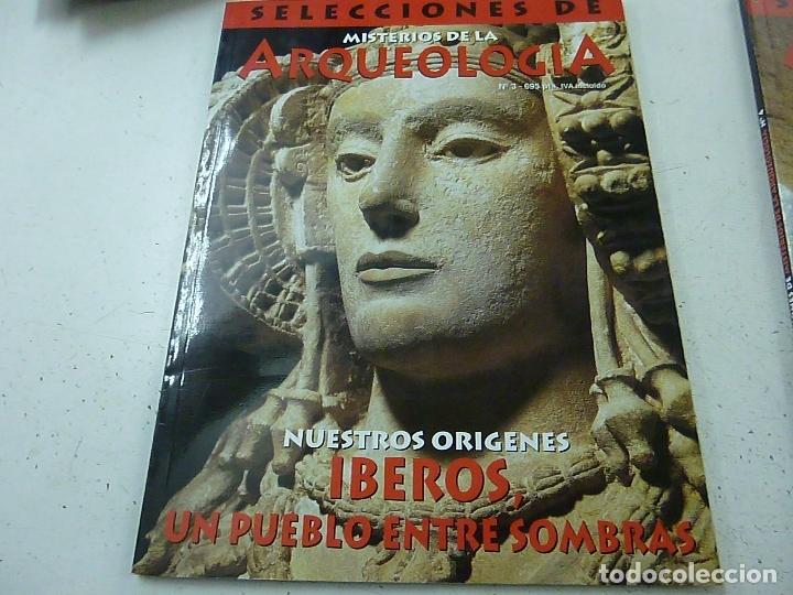 SELECCIONES DE MISTERIOS DE LA ARQUEOLOGIA - NUMERO 3-N 3 (Coleccionismo - Revistas y Periódicos Modernos (a partir de 1.940) - Otros)