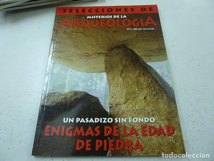SELECCIONES DE MISTERIOS DE LA ARQUEOLOGIA - NUMERO 4-N 3 (Coleccionismo - Revistas y Periódicos Modernos (a partir de 1.940) - Otros)