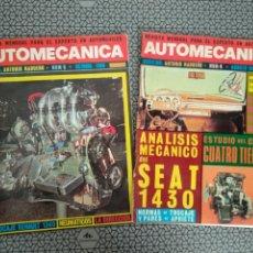 Coleccionismo de Revistas y Periódicos: LOTE 2 REVISTAS AUTOMECANICA. Lote 170979797
