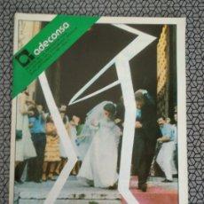 Coleccionismo de Revistas y Periódicos: REVISTA ADECONSA 1981. Lote 170979984