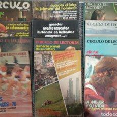 Coleccionismo de Revistas y Periódicos: LOTE 12 REVISTAS CÍRCULO DE LECTORES, FÉLIX RODRÍGUEZ, EL EXORCISTA, TIBURÓN ETC... AÑOS 70. Lote 170980268