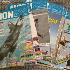 Coleccionismo de Revistas y Periódicos: LOTE 13 REVISTAS AVION REVUE. Lote 170980647