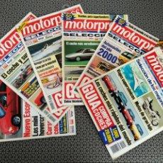 Coleccionismo de Revistas y Periódicos: LOTE 6 REVISTAS MOTORPRESS. Lote 170981103