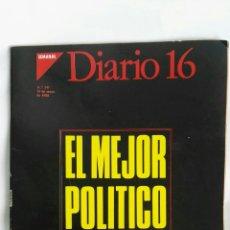 Coleccionismo de Revistas y Periódicos: DIARIO 16 SEMANAL MAYO 1988. Lote 170986918