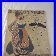 Coleccionismo de Revistas y Periódicos: REVISTA BLANCO Y NEGRO AÑO 1917 NUMERO 1348 COMPLETA. Lote 171005329