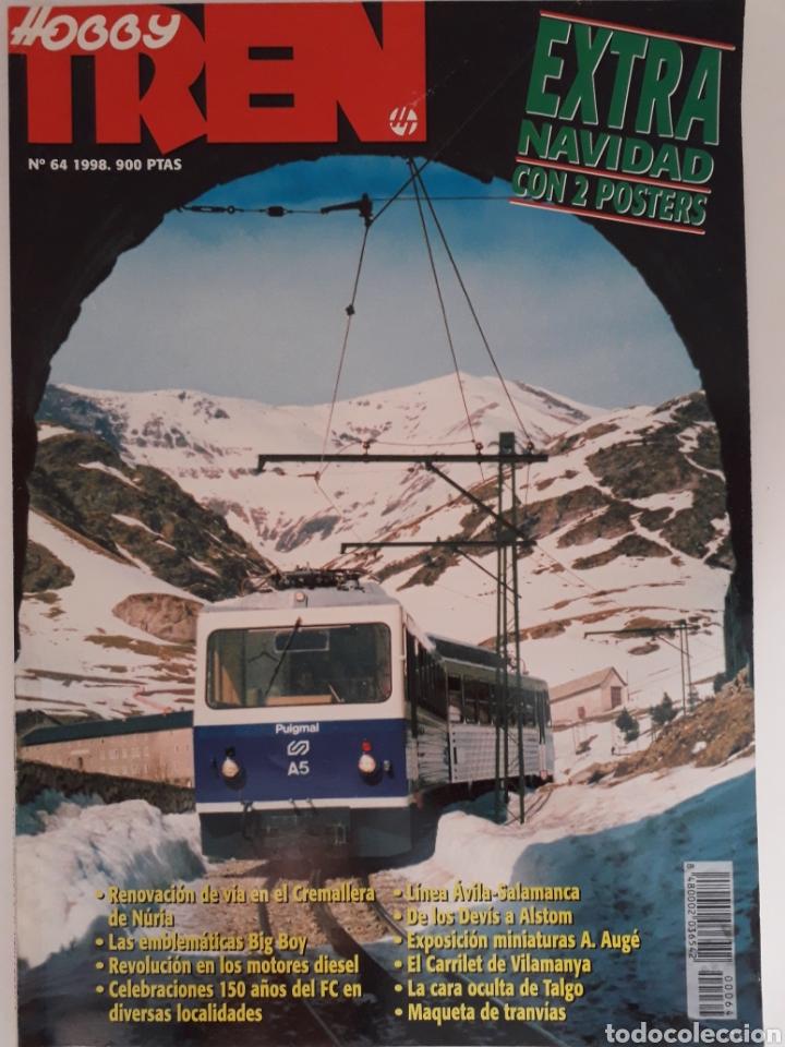 REVISTA HOBBYTREN N° 64 DIC. 1998 HOBBY TREN (Coleccionismo - Revistas y Periódicos Modernos (a partir de 1.940) - Otros)