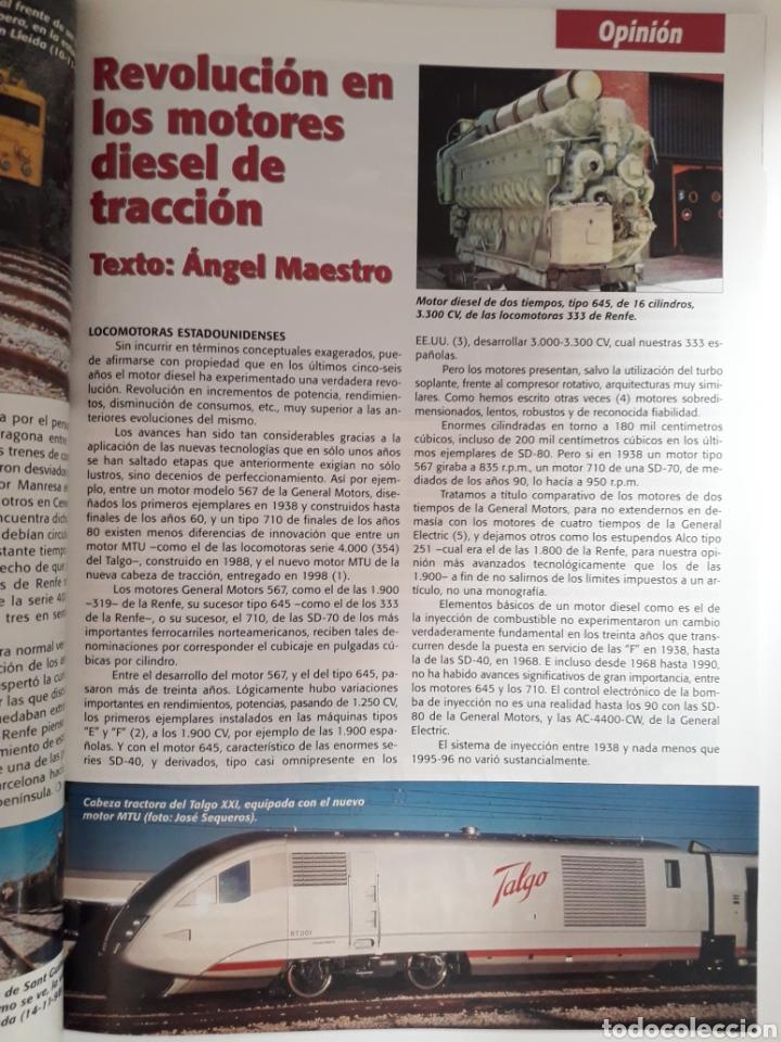 Coleccionismo de Revistas y Periódicos: Revista hobbytren n° 64 dic. 1998 hobby tren - Foto 3 - 171021472