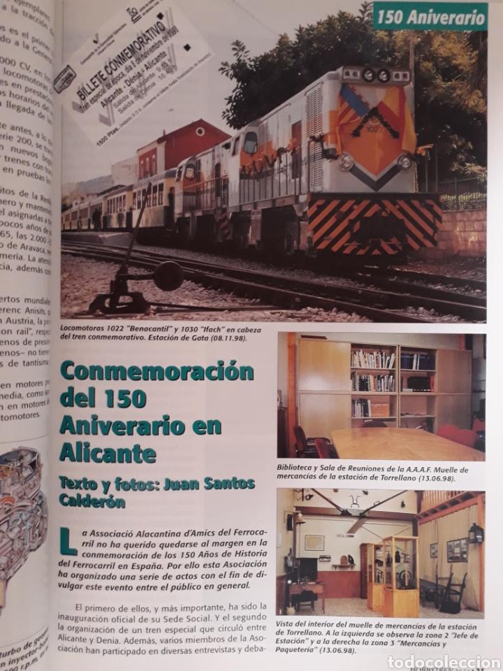 Coleccionismo de Revistas y Periódicos: Revista hobbytren n° 64 dic. 1998 hobby tren - Foto 4 - 171021472