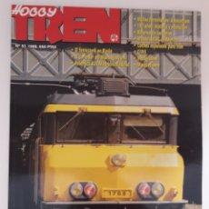 Coleccionismo de Revistas y Periódicos: REVISTA HOBBYTREN N° 57 ABR. 1998 HOBBY TREN. Lote 171022704