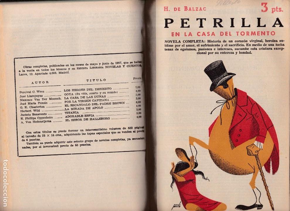 Coleccionismo de Revistas y Periódicos: NOVELAS Y CUENTOS - Foto 2 - 171028577