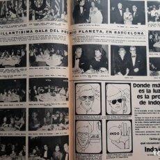 Coleccionismo de Revistas y Periódicos: GALA PREMIO PLANETA BARCELONA 75. Lote 171046785