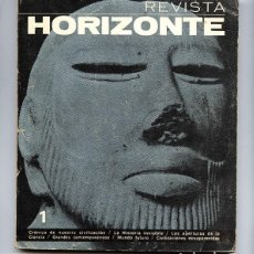 Coleccionismo de Revistas y Periódicos: REVISTA HORIZONTE Nº 1 · PLAZA Y JANÉS 1968 · DIRECTOR: ANTONIO RIBERA. Lote 171063335