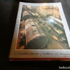 Coleccionismo de Revistas y Periódicos: REVISTA MAQUINISTA DE EMPRESA DE LA MQUINISTRA TERRESTE Y MARITIMA REVISTA NUM 61 . Lote 171119013