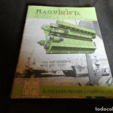 Coleccionismo de Revistas y Periódicos: REVISTA MAQUINISTA DE EMPRESA DE LA MQUINISTRA TERRESTE Y MARITIMA REVISTA NUM 27. Lote 171119475
